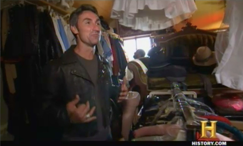 american pickers too hot to handle