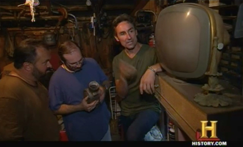american pickers - trading up