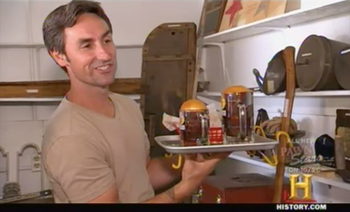 american pickers - Dogs n Suds tray