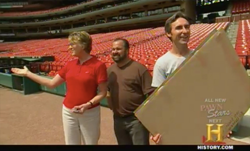 american pickers - Busch Stadium