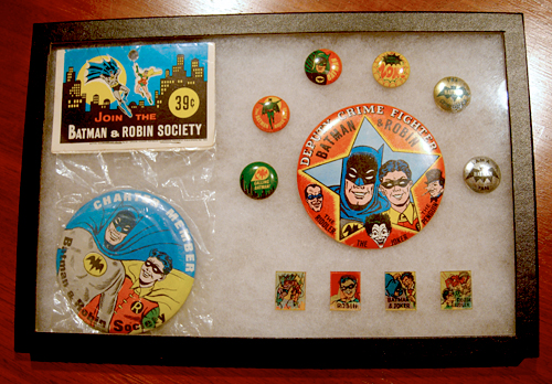 batman buttons and pinbacks
