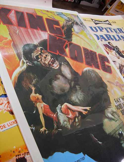 D.C. Big Flea - king kong movie poster
