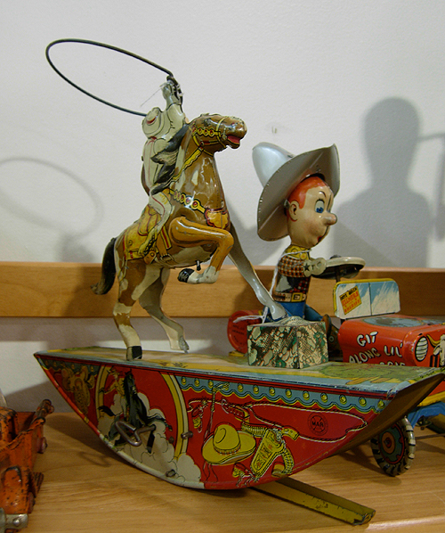 D.C. Big Flea - tin toys