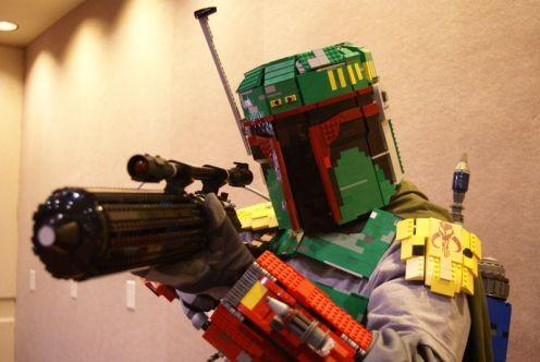 Boba Fett lego Armor