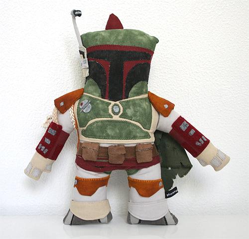 Star Wars boba fett plush doll