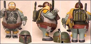 boba fett simpsons comic book guy custom action figure