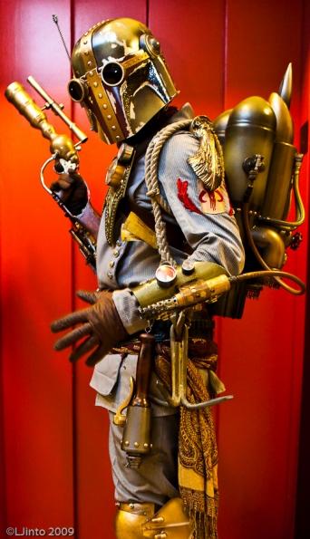 boba fett steampunk costume