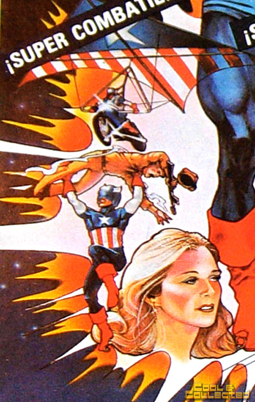 captain america movie poster 1970's