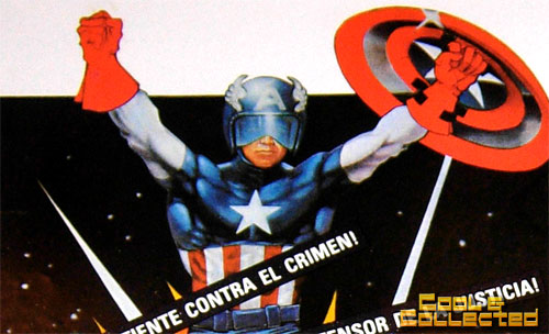 captain america movie poster 1970's