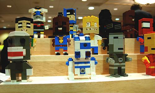 comic show lego figures