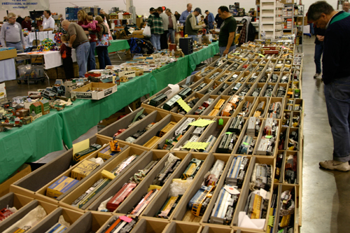 greenberg train and toy show - vintage toy trains for sale
