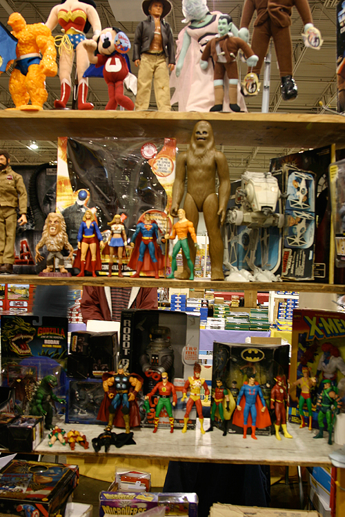 greenberg train and toy show - vintage action figures for sale