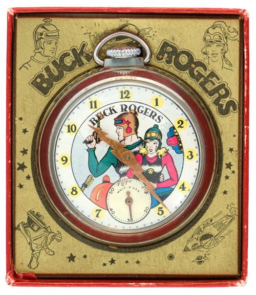 buck rogers pocket watch