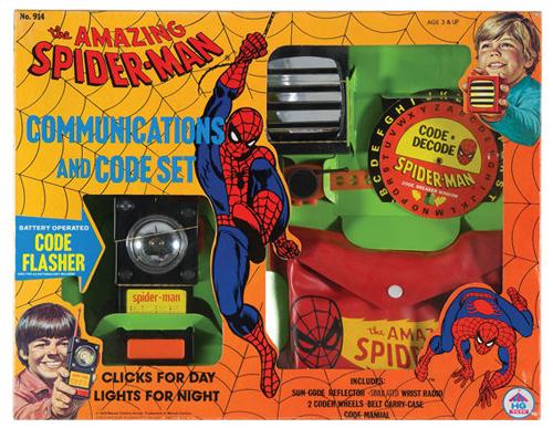 spiderman communications set