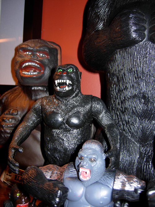 collection of king kong figures