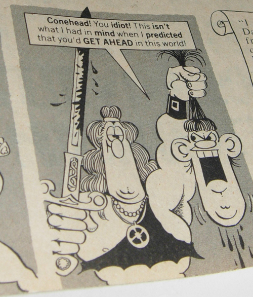 mad magazine - conan the barbarian