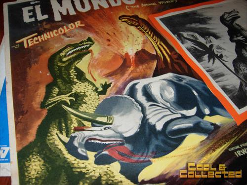 mexican lobby cards dinosaurs