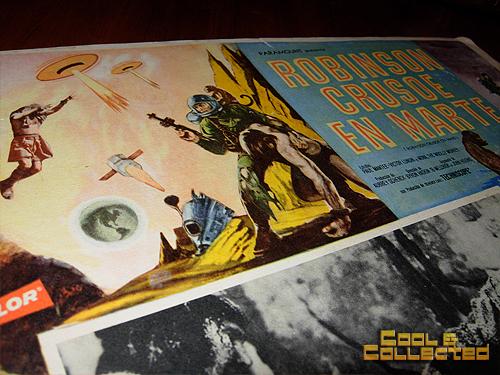 mexican lobby cards - Robinson Crusoe on Mars