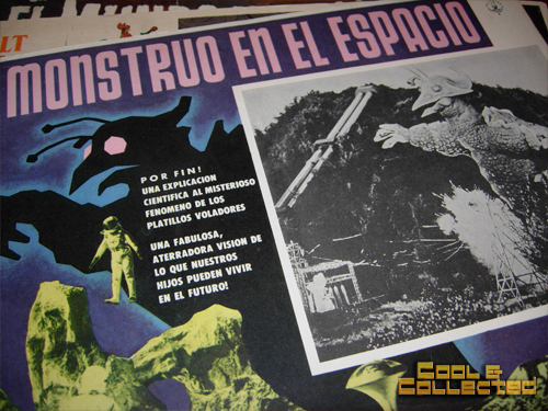 mexican lobby cards - monsters in outer space