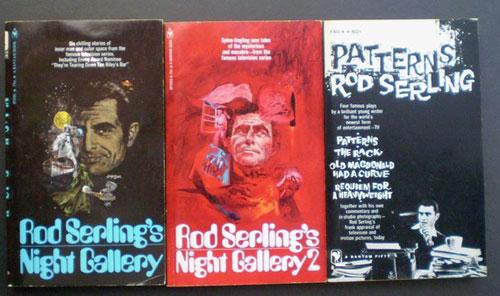 vintage rod serling paperbacks