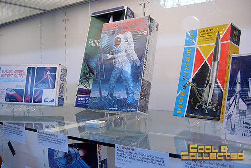 Smithsonian air and space museum - rocket models and toys