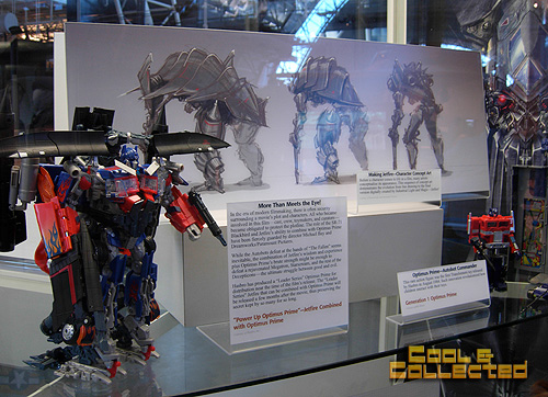 Smithsonian air and space museum - Transformers