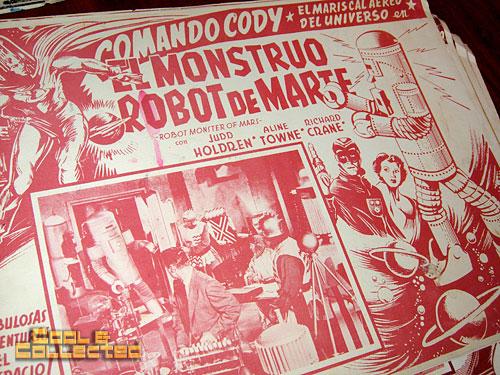 commander cody lobby card