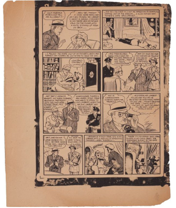 Batman - Detective Comics #27 proof pages