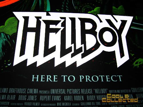 mondo hellboy poster - Guillermo Del Toro