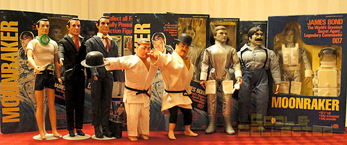 Vintage James Bond Action Figures from Gilbert