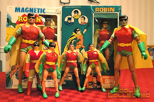 Collection of Robin action figures - Batman