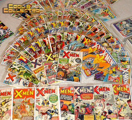 Collection of X-Men Comic Books