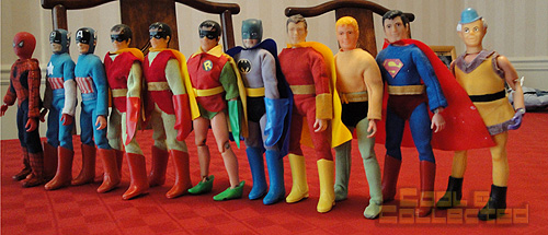 Mego superhero collection