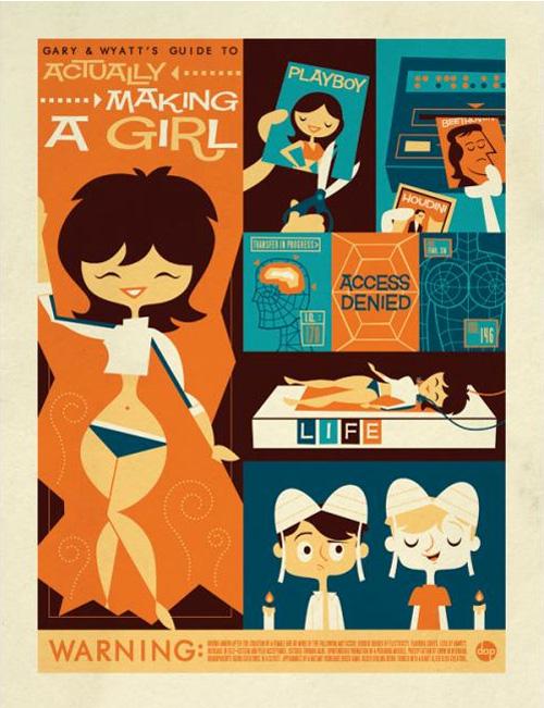 weird science poster-daveperillo - Studio 88