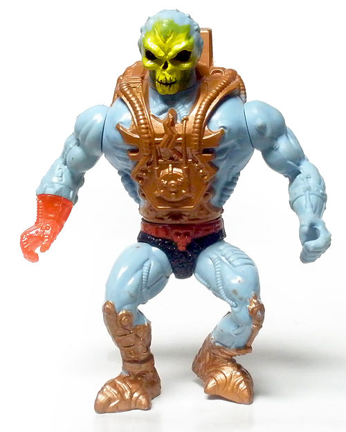 MOTU He-Man Vintage Laser Light Skeletor