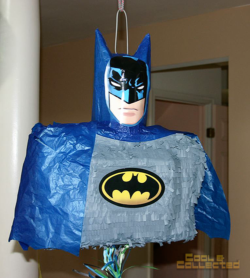 Batman birthday party pinata