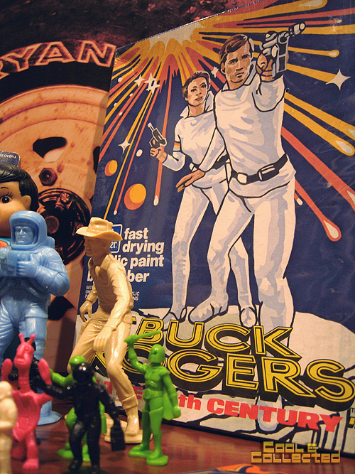 Buck Rogers paint set