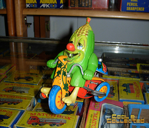 Marx corncob tricycle