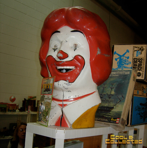 DC Big Flea McDonalds Head