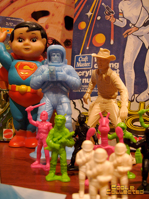 DC Big Flea haul of vintage toys
