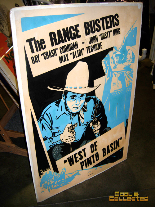 DC Big Flea vintage western movie poster