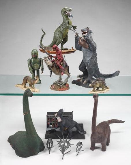 Slash dinosaurs collection
