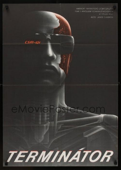 Czech Terminator Poster