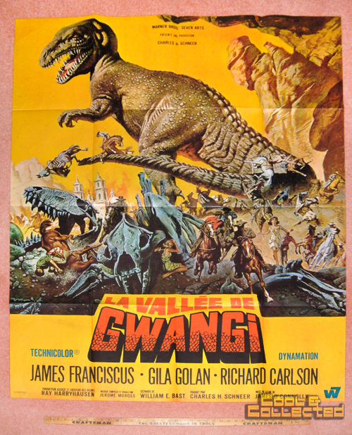 valley of gwangi poster