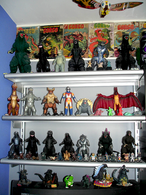 Tom Krohne monster collection