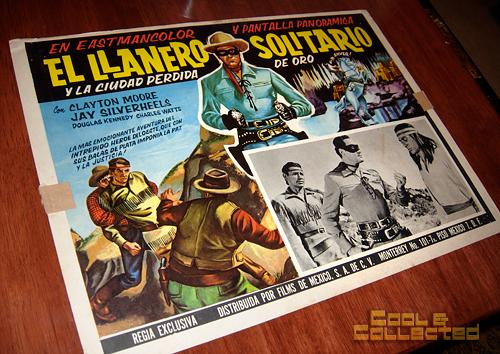 Lone Ranger Mexican lobby card