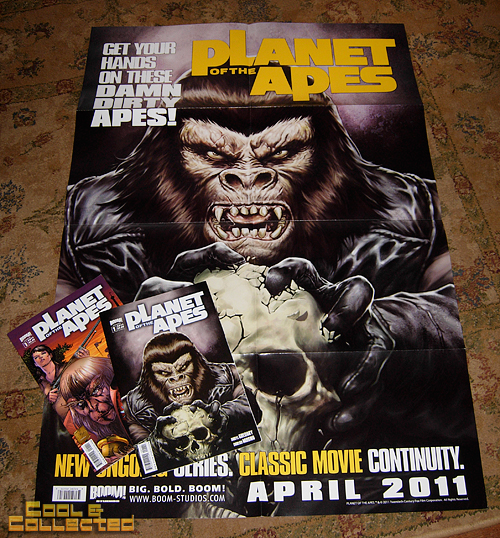 planet of the apes comic books by BOOM!