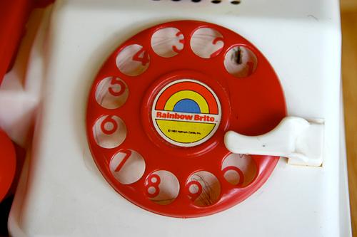 rainbow brite phone
