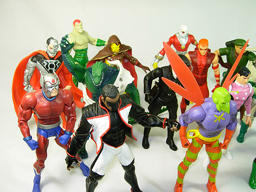 Collection of DCUC Action Figures for sale