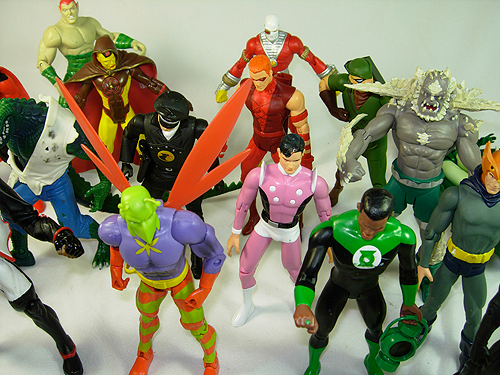 Huge Collection of DCUC Action Figures for sale
